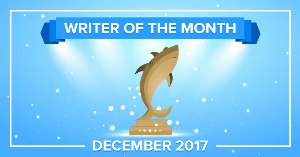 EssayShark Best Writers of December 2017