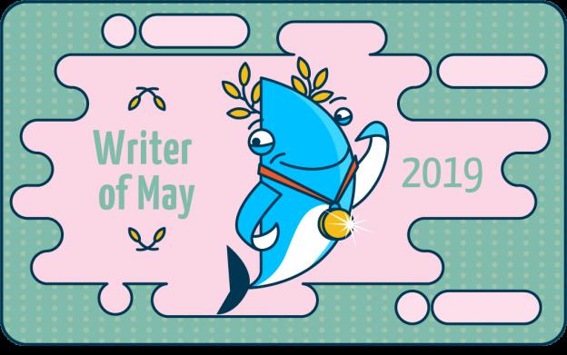 writer of may 2019